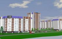 Проект жилого комплекса на улице Совхозной. Ижевск